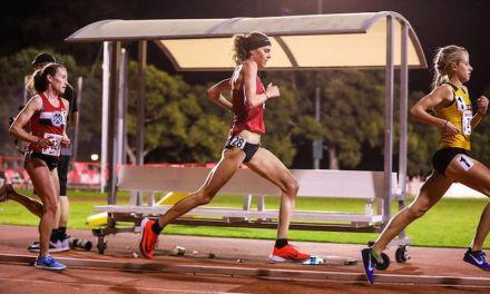 L'oro di Rio 2016 Gwen Jorgensen corre i suoi primi 10.000 in pista e va sotto i 32′