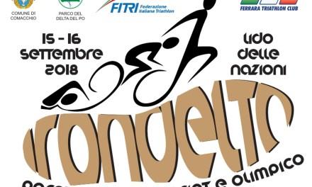 Le starting list dell'Irondelta Triathlon 2018 di Lido delle Nazioni