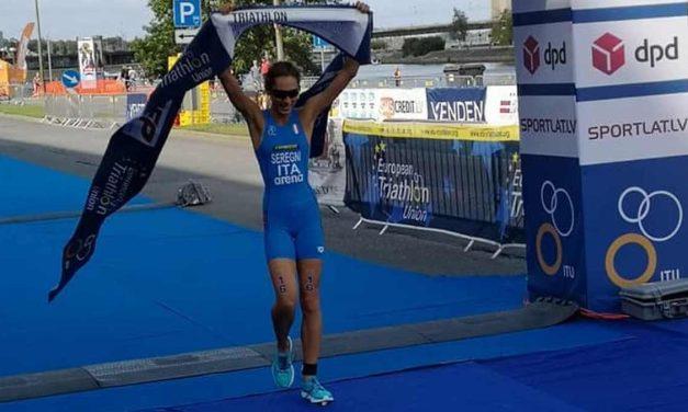 Bianca Seregni vince la tappa di Coppa Europa Junior di triathlon a Riga