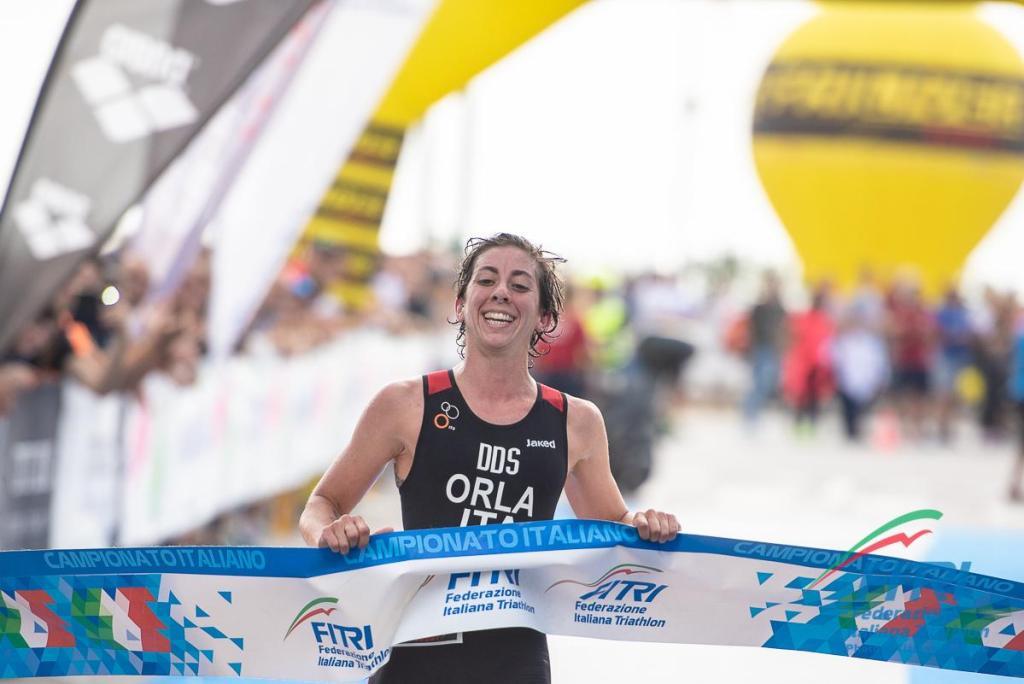 Alessia Orla (DDS Triathlon Team) vince i Campionati Italiani di triathlon sprint 2019 (Foto ©Tiziano Ballabio / FiTri).