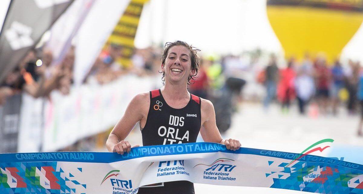 Alessia Orla vince i Tricolori di triathlon sprint 2019