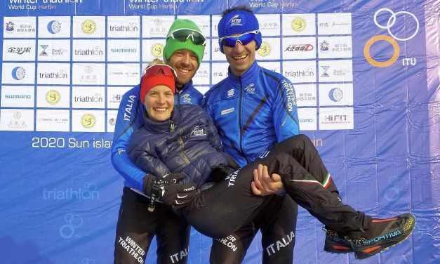CoppaMondo di winter triathlon: in Cina dominano i russi. I tre azzurri nei top 10