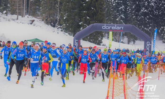 Mondiali di winter triathlon ad Asiago: il programma e tutti gli azzurri al via