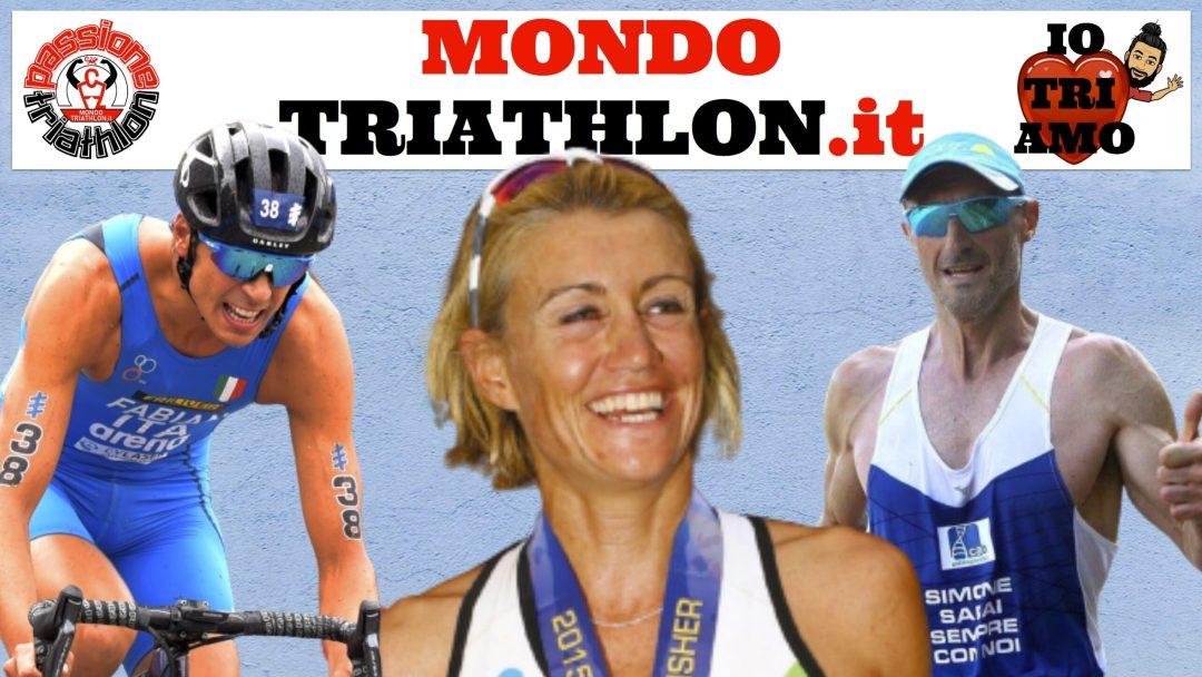 Passione Triathlon, la copertina con i protagonisti dal 13 al 17 luglio 2020: Francesca Tibaldi, Alessandro Fabian, Amedeo Bonfanti