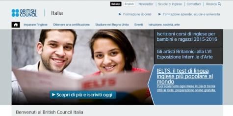 British Council Corsi di inglese Roma