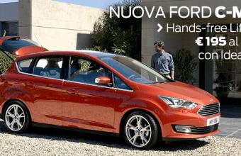 Ford presenta la Nuova Ford C-Max