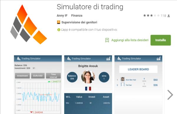 Piattaforma trading gratis