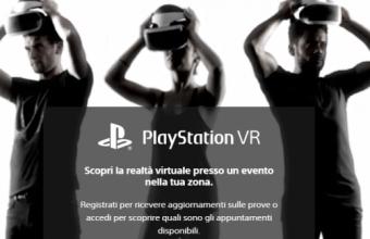 Sony Playstation VR: partecipa alla prova in anteprima