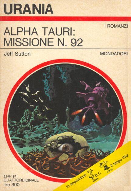 Alpha Tauri Missione N 92