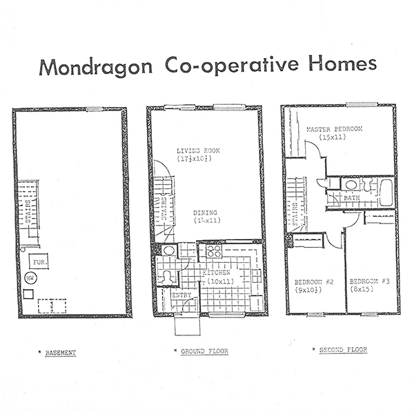 Floor Plans & Housing Charges Mondragon Co-op Brampton ON