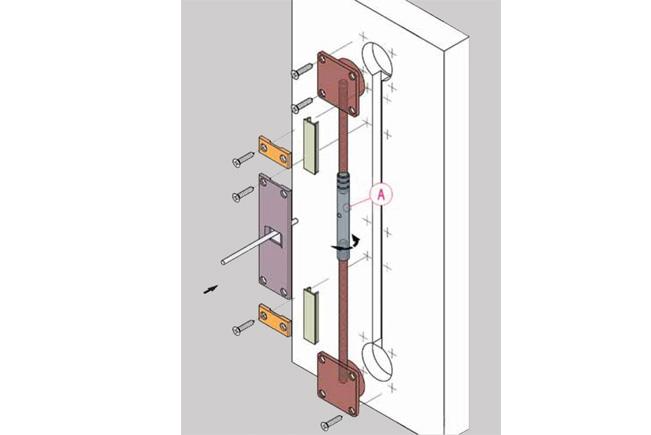 Tensor puerta armario  Representaciones MONDRAGN