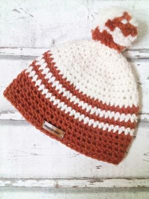 """Mütze """"Anden"""" (orange) von Mondspinne"""