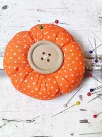 Nadelkissen Orange