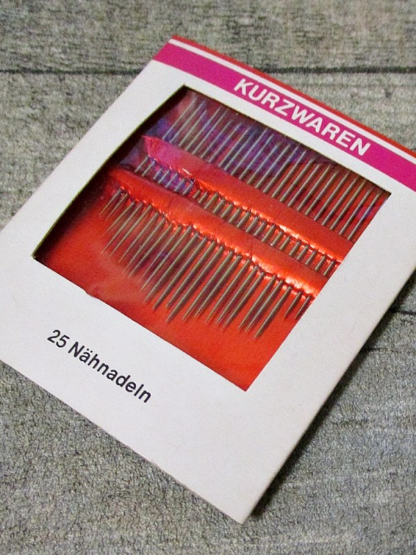 Nähnadeln 25 Stück - MONDSPINNE
