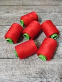 Garn Polyester rot 0,1 mm 400 m - MONDSPINNE
