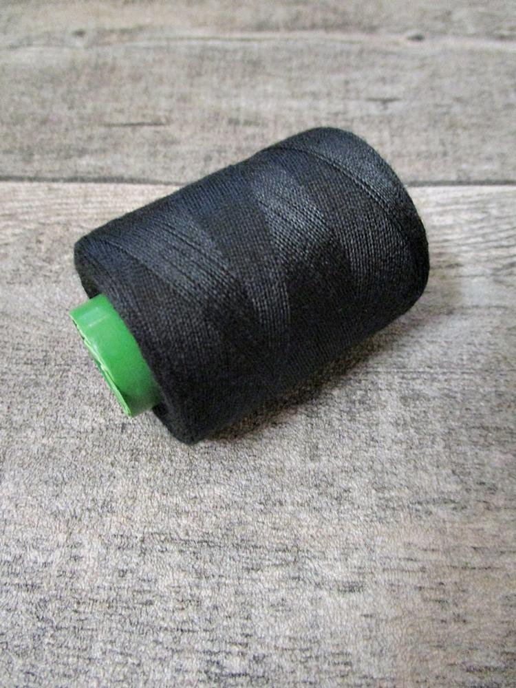 Garn Polyester schwarz 0,1 mm 400 m - MONDSPINNE