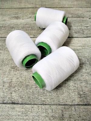 Garn Polyester weiß 0,1 mm 400 m - MONDSPINNE