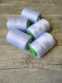 Garn Polyester blauviolett 0,1 mm 400 m - MONDSPINNE 28