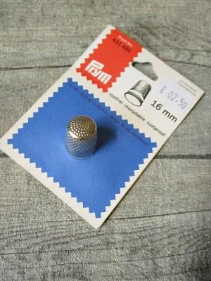 Fingerhut silber Metall Prym - MONDSPINNE