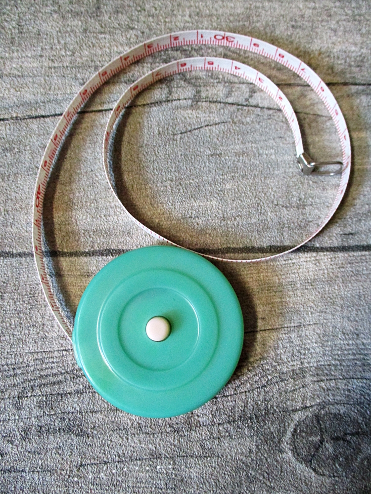 Maßband Bandmaß Metermaß Rollmaß Rollmaßband rund grün 150 cm Zoll - MONDSPINNE