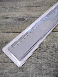 Lineal 30 cm transparent Kunststoff Wenco - MONDSPINNE