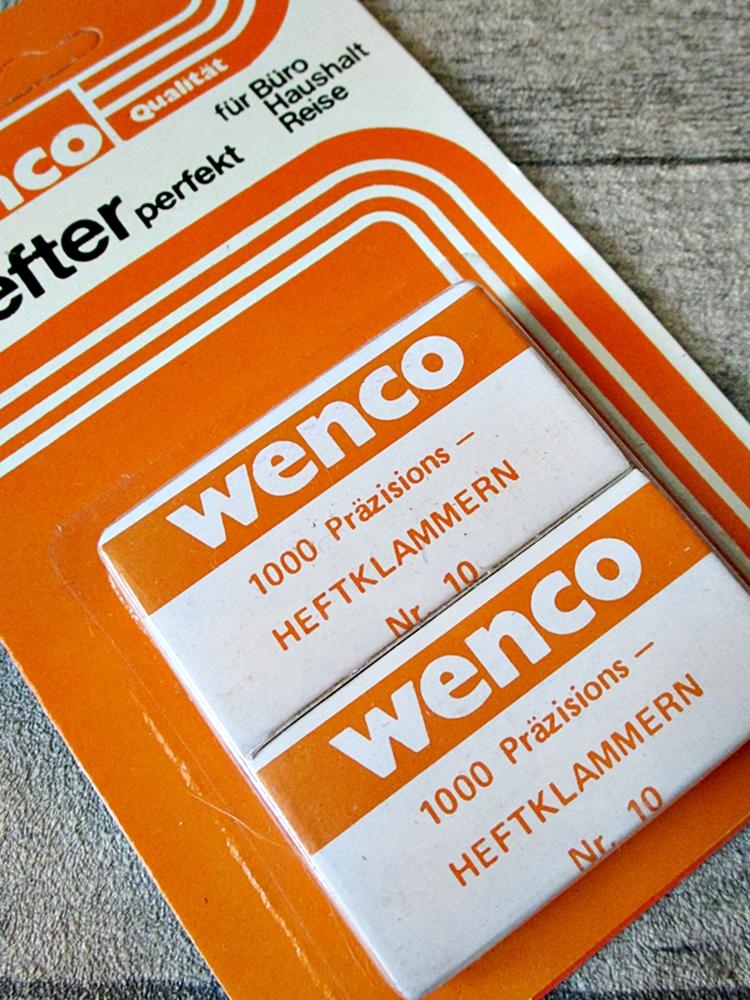 Heftklammern Nr. 10 Wenco - MONDSPINNE