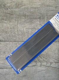 Hosenschonerband grau Baumwolle Viskose Polyamid 15 mm 1,25 m WENCO Blister - MONDSPINNE
