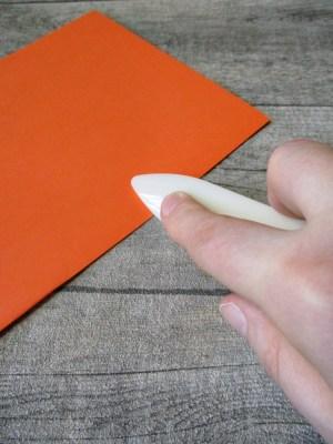 Falzbein gerade lang beige Kunststoff 20,5x2,4 cm - MONDSPINNE