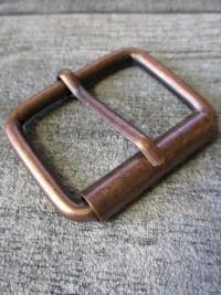 Gürtelschnalle Metallschließe kupfer Metall - MONDSPINNE