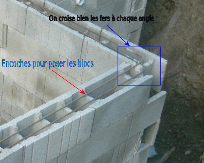 comment construire un mur en blocs a
