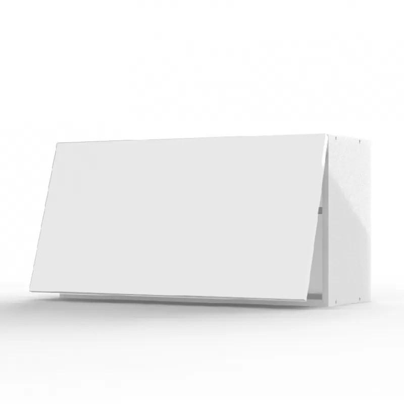 mon espace maison meuble haut cuisine blanc brillant largeur 80cm
