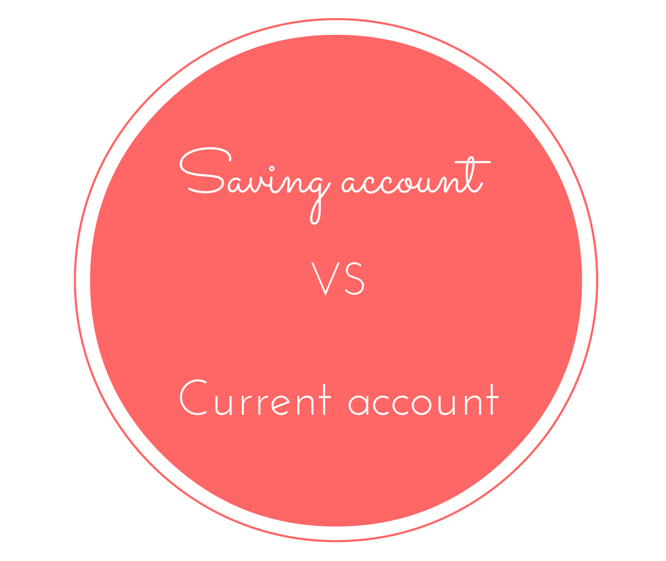 Difference between saving account and current account