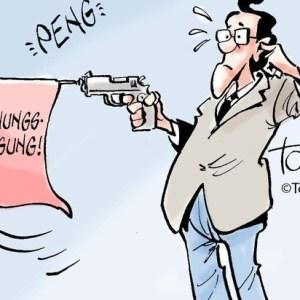 Waffe in der Wohnung