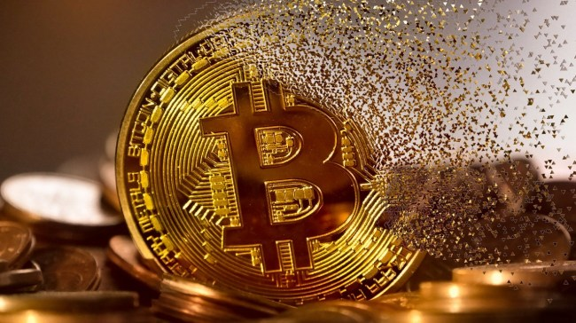 Bitcoin in Gold