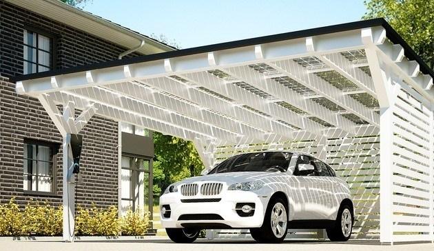 Solarstrom Carport