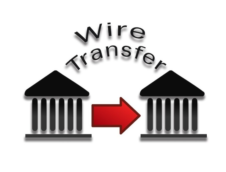 wire transfer payment