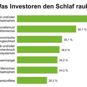 Klimawandel und Protektionismus rauben Investoren den Schlaf / ...