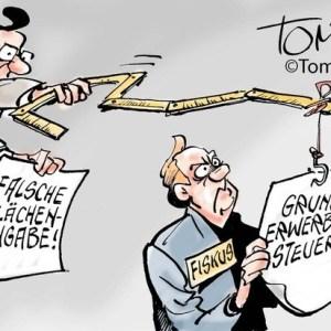 Grunderwerbssteuer aufheben