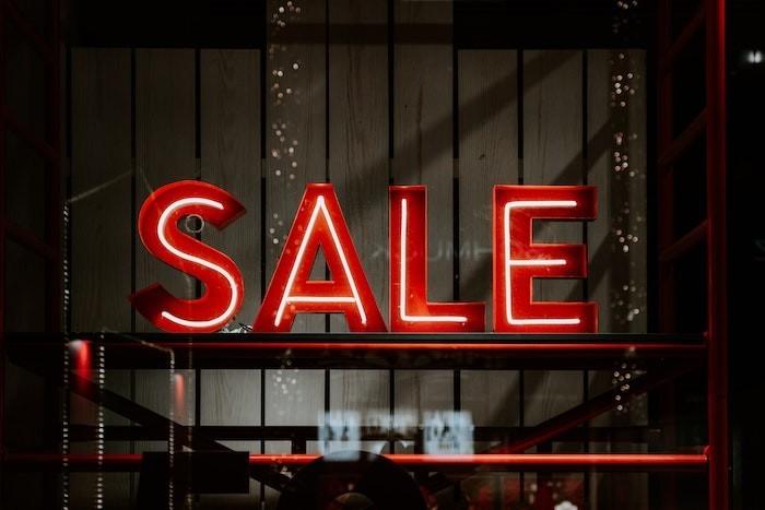 Sale Schild