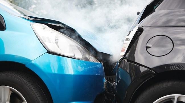 Autounfall Symbolbild
