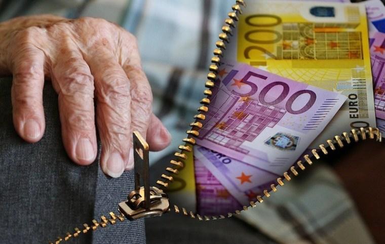 alter Mensch Geld