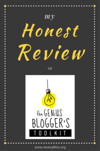 Review Genius Blogger's Toolkit. Blogging tips. Business tips. Courses. How to create a blog.