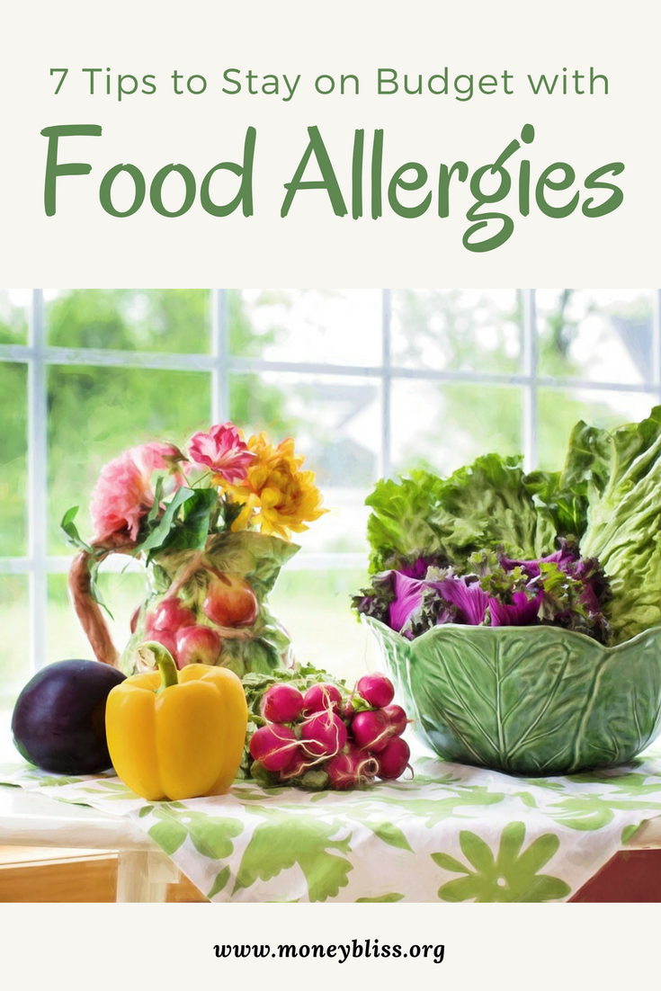Staying on budget with food allergies money bliss 7 tips to stay on budget with food allergies grocery budget with allergies food forumfinder Image collections