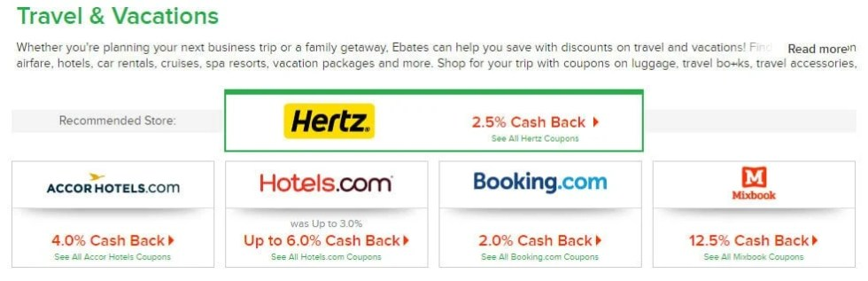 Did you know you can get cash back on travel bookings with Ebates? You don't even have to be in the US, as long as you have access to Paypal you can use Ebates. This is going to save me so much money on my next overseas trip, I'm so excited that I can use Ebates from New Zealand!