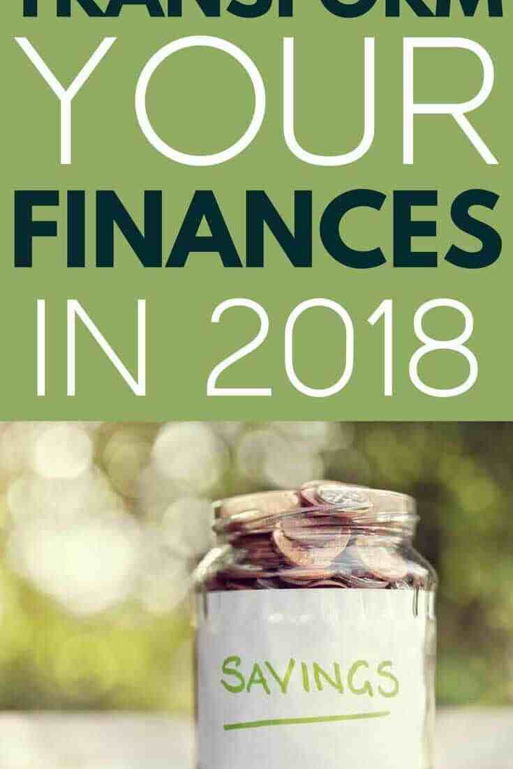 Make this year your best financial year yet with this simple plan to get your finances on track and make your money work for you. #financetips #getoutofdebt