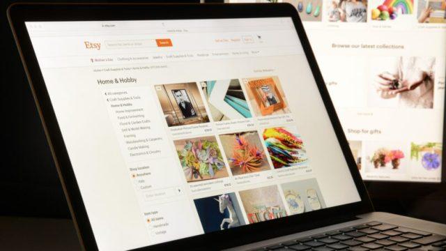 Etsy Website Sell Buy Laptop