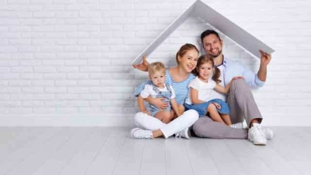 Family Under One Roof 2 Kids Young Parents