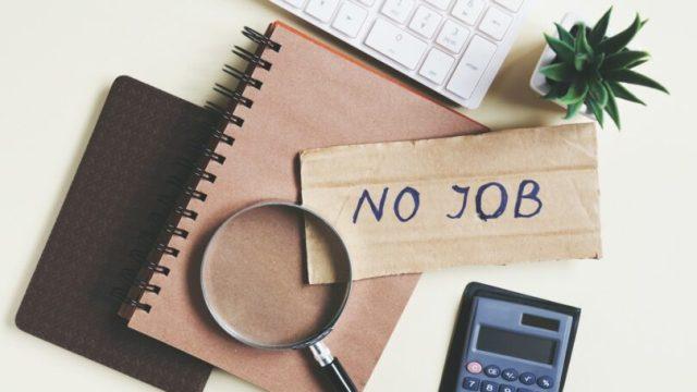 Unemployment Looking For Job Calculator Laptop