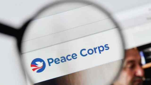 Peace Corps Website Magnifying Glass