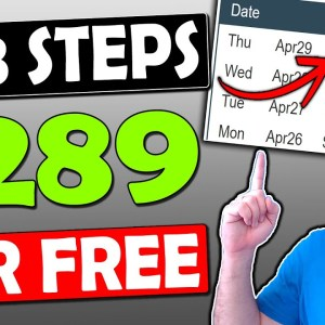 Quick 3 STEP Process To Make $289 In One Day With a Free Affiliate Marketing For Beginners Strategy